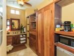 West Wing Bathroom  approx.240 sq ft with walk-in shower