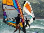Windsurfing at Ticowind