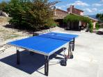 Ping pong table available