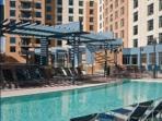 Wyndham Outdoor Swimming Pool