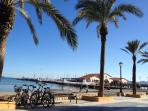 mar menor beach at 10 min. away