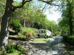 Surrounded by private woodland walks and breathtaking views across Snowdonia