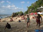 Not far to Padang padang Beach