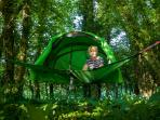 Hire our tentsile for extra fun or space.