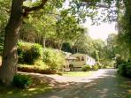 Tan y Graig is set in stunning private woodland grounds, Conwy Valley, Snowdonia, North Wales
