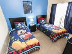 The Twin Bedroom #7 (Mickey Mouse Theme)