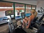 Large modern gym