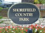 Award winning park with range of leisure facilities