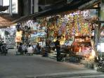Seminyak provides a colorful array of shopping opportunities for all kinds of travelers