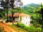 Three storied house facing chembra peak