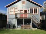 Rear of Home w Deck & Fenced in Yard
