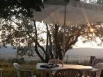 Per rilassarsi al tramonto o al sorgere del sole per la colazione