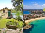 Beautiful Garden Cabin 500m to Manly Beach