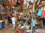 The weekly Flea Market on wednesdays brings together people from all over Goa to meet up.