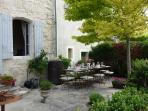 Issigeac - Maison de la Paix - 13th century medieval villa. Early Spring traditional French luncheon