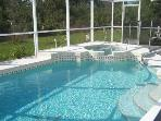 Perfect pool to relax and enjoy the sunshine, swim, and a drink by the pool after a long day!