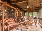 Jacob's Ridge Hideaway - A beautiful pet friendly cabin rental with scenic views near Blue Ridge