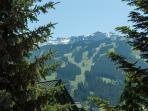 Ski run views Whistler Sunpath vacation rental