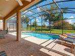 Sit & Soak up the Florida Sun at your own large Private Pool.