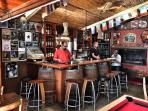 Attraction: Sun Touched Inn's lovely bar and locals