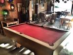 Attraction: Sun Touched Inn's pool table