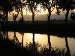 The Canal Du Midi.