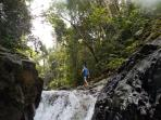 We offer guided waterfall/rain forest hiking tours thru a Guna friend of ours. Lunch is included.