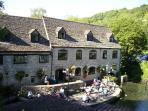 Relax over lunch at Egypt Mill in Nailsworth