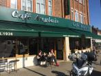 Cafe Anglais, recommended (English/Spainsh/Italian) within walking distance.