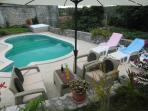 Pool terace