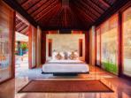 Guest Bedroom at Villa Tukad Pangi