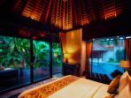Riverside Master Suite at Villa Tukad Pangi