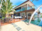 Villa U - amazing 5* beach-side retreat, with resident staff