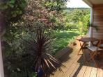 outside views of garden