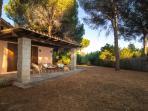 Big Garden e Veranda view of Villa I Pini