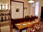 Kitchen+ dining area