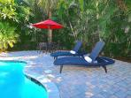 Spectacular (Incredibly Private) Lounge Area Offers Heated Pool, Spa & Dining...