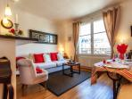 Parisian Apartment with Eiffel Tower View