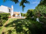 2 bedroom villa with good sized garden