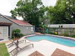 Clear your mind poolside in Seminole Heights!