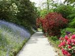 NT Trelissick Gardens nearby