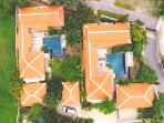 Adjoining Villas for larger group bookings