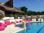 Pool, Pool Deck and Master Villa