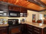 Modern appliances and granite countertops