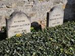 Cimetière d'Auvers-sur-Oise (à quelques pas de la Lucarne du voyageur)