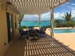View from Under the Gazebo Next To The Pool and Game Room