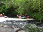 White Water Rafting Centre is a 25 min drive towards Bala