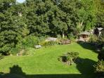 Stunning private gated gardens solely for Devonshire Terrace