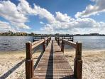 Stocked fishing lakes