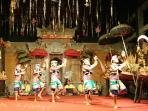 Take in local Balinese Legong theatre